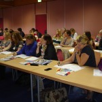 Konzentrierte Teilnehmer beim Seminar mit Are Thoresen